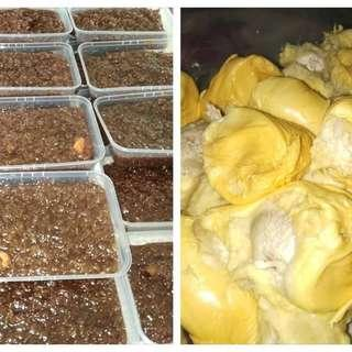 Wajik Durian