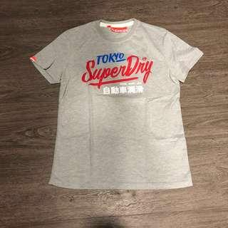 Authentic Superdry T-shirt Gray