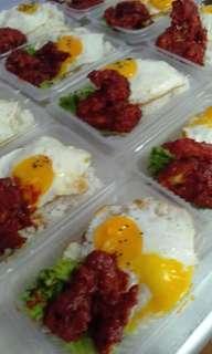 Set Nasi Ayam Korean Spicy