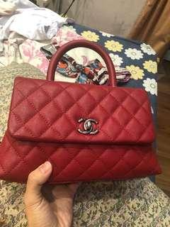 #23chanelcoco mini 9.5 bag