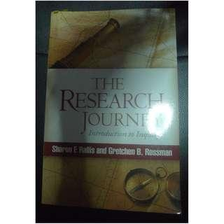 The Research Journey: Introduction to Inquiry by Sharon F. Rallis,Gretchen B. Rossman,Thomas A. Schwandt