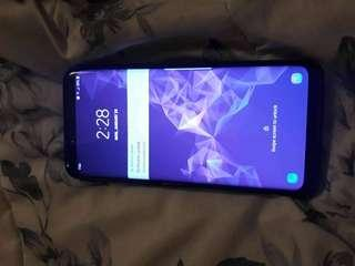 Samsung Galaxy S9 plus 64Gb unlocked new with box