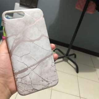 Marble Rose Soft Case