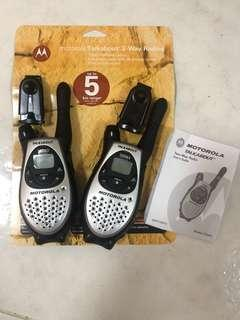 Motorola Talkabout  T5583 Walkie Talkie