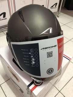 🚚 ASTONE RST 消光黑銀 3/4 四分之三罩 半罩式 安全帽