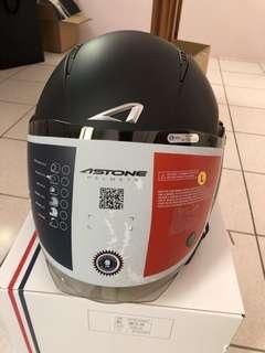 🚚 ASTONE RST 消光黑 3/4 四分之三罩 半罩式 安全帽