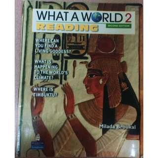 What A World Reading 2 2e   2011 Broukal Longman ISBN10 0132477963 ISBN13 9780132477963