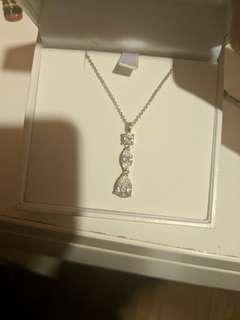 Thomas sabo cubic zirconia and Swarovski crystal pendant