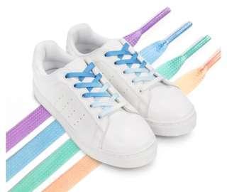 FUFA富發漸層綁帶白色休閒鞋
