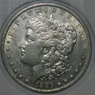 Morgan Dollar Silver, Usa Coin