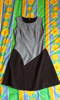 🚚 Blue and black dress (Size S)