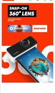 Panoclip .... 360 Clip on Lens for Iphone