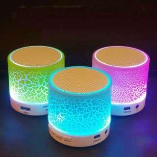 Speaker Bluetooth 4.0 LED Light
