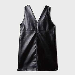 Leather dress  (mixxo from korea)