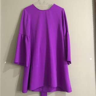 Omara Purple shirt