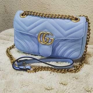 Gucci Marmont Matelasse Chain Shoulder Bag