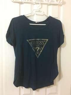 Guess Logo Shirt Size medium