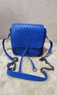Bottega Veneta Intrecciato Chain Crossbody  Bag
