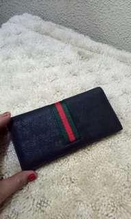 Gucci Web Band Long Wallet