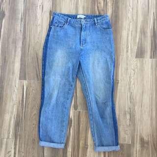 Double Denim Jeans