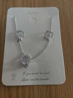 Sterling Silver Earring and Necklace