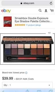 Smash Box Double Exposure Eyeshadow Palette