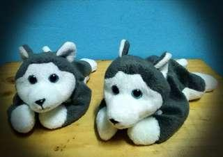 0393c939d7b (2) Items - TY Beanie Babies collection- Nanook the Husky (1996)