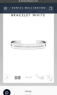Daniel Wellington Silver Bracelet/Cuff
