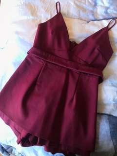 Noughts and crosses playsuit - size 12