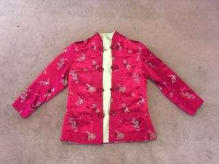 Chinese silk jacket