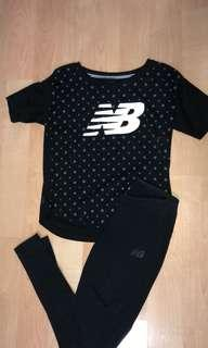 New Balance top and leggings
