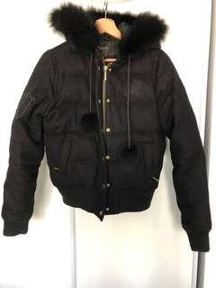 Rocawear Black Bomber Jacket Size Small
