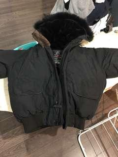 Arctic bay black bomber large