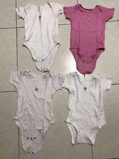 Mothercare bear romper (harga untuk 4)