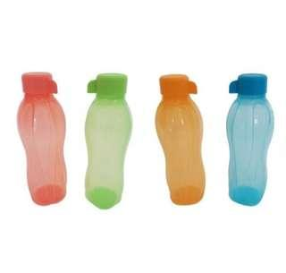 Tupperware 500ml Eco Bottle (set of 4)