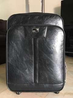 "Mont Blanc 24"" size luggage bag"