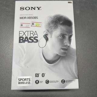 Sony Earphone wireless mdr-xb50bs