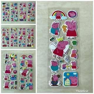 🚚 Peppa Pig Foam Stickers (Buy 10 get 1 Free)