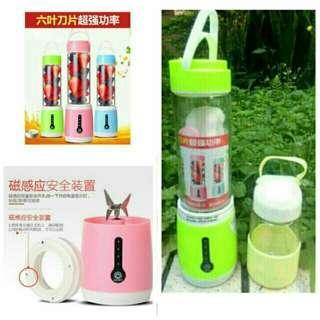 🚚 新款充電式榨汁杯 電動果汁杯六刀頭便攜多功能學生榨汁機輔食機 【含一隨行杯】