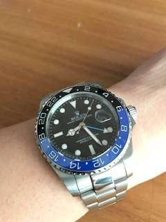 Preloved Rolex GMT Master Batman 116710BLNR Mirror second