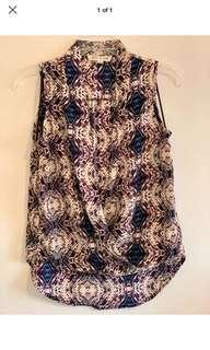 Anthropologie women's work top XS
