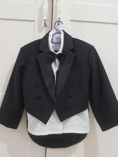 5 pcs tuxedo kids boy set