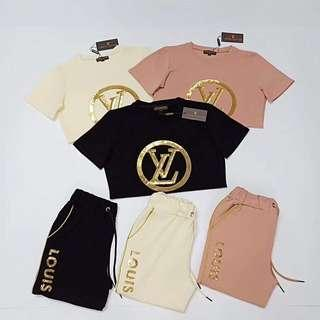 Louis Vuitton LV Set Pants & Top Authentic quality