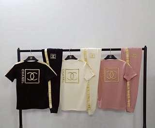 Chanel Set Apparel Pants & Top Authentic Quality