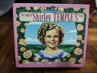 The Songs From Shirley Temple's Films - A se of 3 volumes