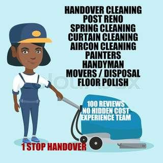 HOUSE CLEANING N HOUSE HANDOVER PROMOTION