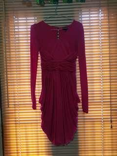 Dress BCBG Maxazria Red