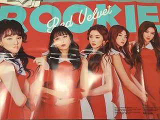 FOLDED OFFICIAL KPOP POSTERS