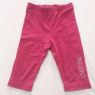 女童5分內搭褲 緊身短褲 休閒運動褲 二手