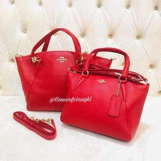 Authentic Coach Kelsey Mini and Small
